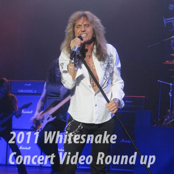 2011 Whitesnake Concert videos Roundup