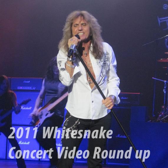 2011 Whitesnake Concert videos Roundup