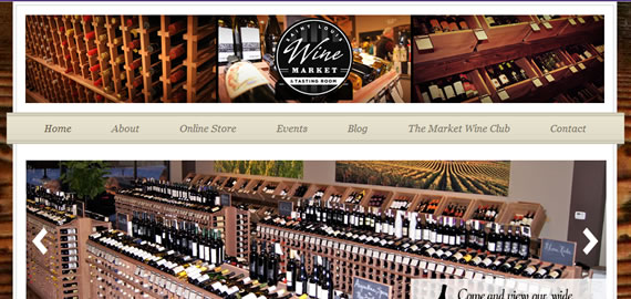 Freelance Web Site: STL Wine Market