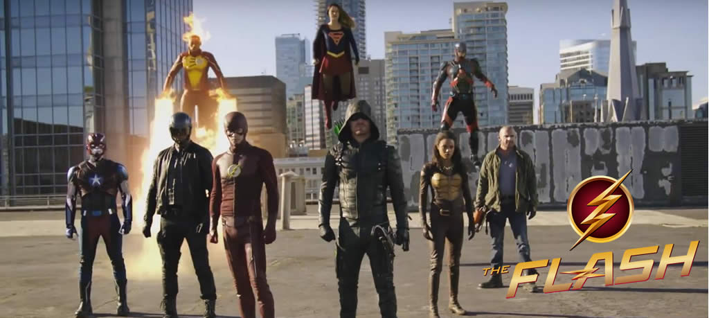 The Flash season 3 episode 8: Invasion!